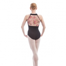 Floral Back Leotard