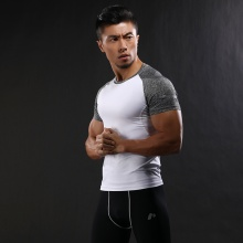 Two Tone Compression T-Shirt