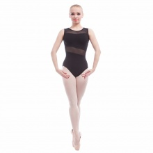 Transparent Detail Leotard