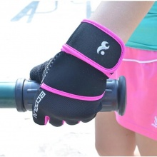 Purple Crossfit Gloves
