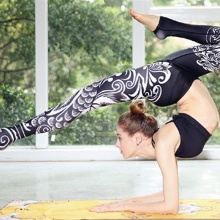 Ethnic Yoga Leggings