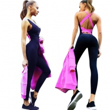 Racer-back Workout Jumpsuit