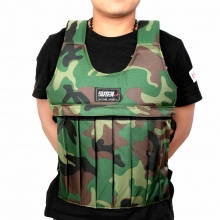 Camouflage Weighted Vest