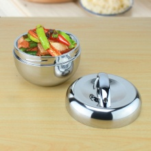 Stainless Steel Apple Lunch Box