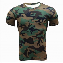 Camouflage Compression Top