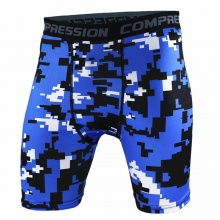 Printed Compression Shorts