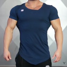 Solid Color Compression T-Shirt