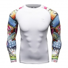 Tattoo Sleeves Compression Top